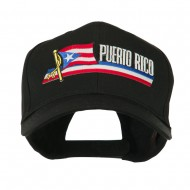 Flag and Name Patched Cap - Puerto Rico