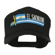 Flag and Name Patched Cap - El Salvador