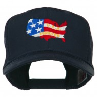 United States with USA Forever Embroidered Cap - Navy
