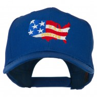 United States with USA Forever Embroidered Cap - Royal