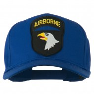 101st Airborne Patched Cap - Royal