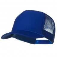 Youth Polyester Foam Golf Mesh Cap - Royal