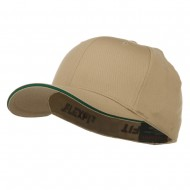 Flexfit Wooly Combed with Sandwich Cap - Khaki Spruce