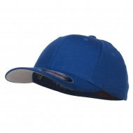 Flexfit Youth Wooly Combed Twill Cap - Royal