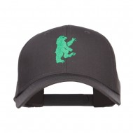 Bear Island Embroiderd Low Profile Cap - Charcoal