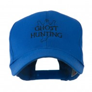 Ghost Outline with Hunting Embroidered Cap - Royal