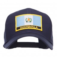 Guatemala Flag Embroidered Patch Cap - Navy