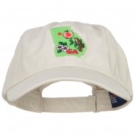USA State Georgia Patched Low Profile Cap - Putty