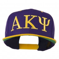 Alpha Kappa Psi Embroidered Cap - Purple Gold