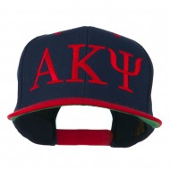 Alpha Kappa Psi Embroidered Cap - Navy Red