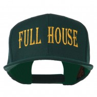 Gaming Full House Embroidered Flat Bill Cap - Spruce