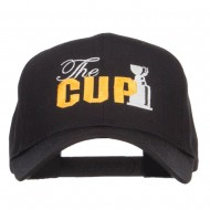 Hockey The Cup Embroidered Twill Cap - Black