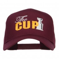 Hockey The Cup Embroidered Twill Cap - Burgundy