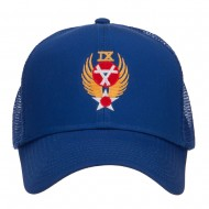 Air Force 9th Command Embroidered Mesh Cap - Royal