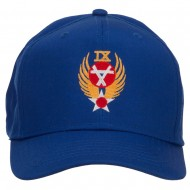 Air Force 9th Command Embroidered Cap - Royal