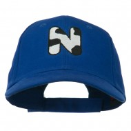 Holstein Alphabet Letter NZ Embroidered Youth Brushed Cap - N