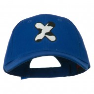 Holstein Alphabet Letter NZ Embroidered Youth Brushed Cap - X