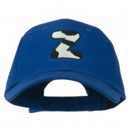 Holstein Alphabet Letter NZ Embroidered Youth Brushed Cap - Z