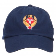 Air Force 9th Command Embroidered Low Cap - Navy