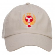 Air Force 9th Command Embroidered Low Cap - Stone