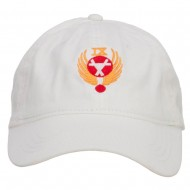 Air Force 9th Command Embroidered Low Cap - White