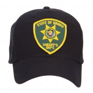 Hawaii State Sheriff Patched Cap - Black