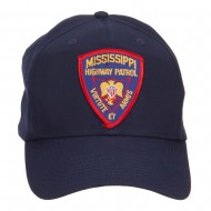 Mississippi State Highway Patrol Patched Cap - Navy