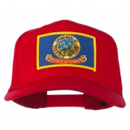 Idaho State High Profile Patch Cap - Red