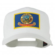 Idaho State High Profile Patch Cap - White