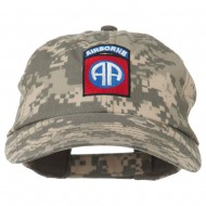 Airborne Embroidered Camouflage Cap - Digital Camo