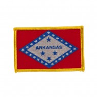 Middle State Embroidered Patches - Arkansas
