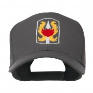 199th Infantry Military Badge Embroidered Cap - Charcoal Grey