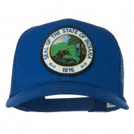 Indiana State Patched Mesh Cap - Royal