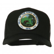 Indiana State Patched Mesh Cap - Black