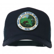 Indiana State Patched Mesh Cap - Navy