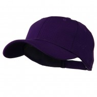 Athletic Jersey Mesh Cap - Purple