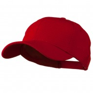 Athletic Jersey Mesh Cap - Red