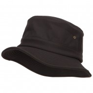 UV Premium Softshell Bucket Hat - Black