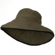 Kettle Canvas 4 Inch Brim Hat - Olive