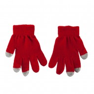 Kid's Touch Screen Texting Glove - Red