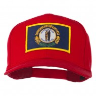 Kentucky State High Profile Patch Cap - Red