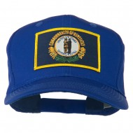 Kentucky State High Profile Patch Cap - Royal