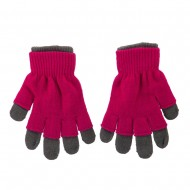 Ladies 3 in 1 Magic Glove - Grey Pink