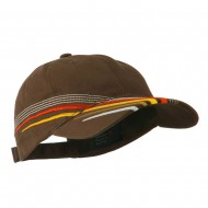 Low Profile Deluxe Brushed Cotton Twill Cap - Brown