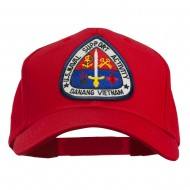 US Naval Support Activity Patched Cap - Red