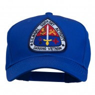 US Naval Support Activity Patched Cap - Royal