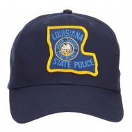 Louisiana State Police Patched Cap - Navy