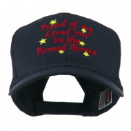 Loved One in Armed Forces Embroidered Cap - Navy