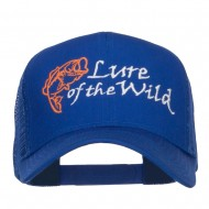 Lure of the Wild Embroidered Mesh Cap - Royal