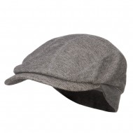 Marleld Terry Cotton Ivy Cap - Charcoal